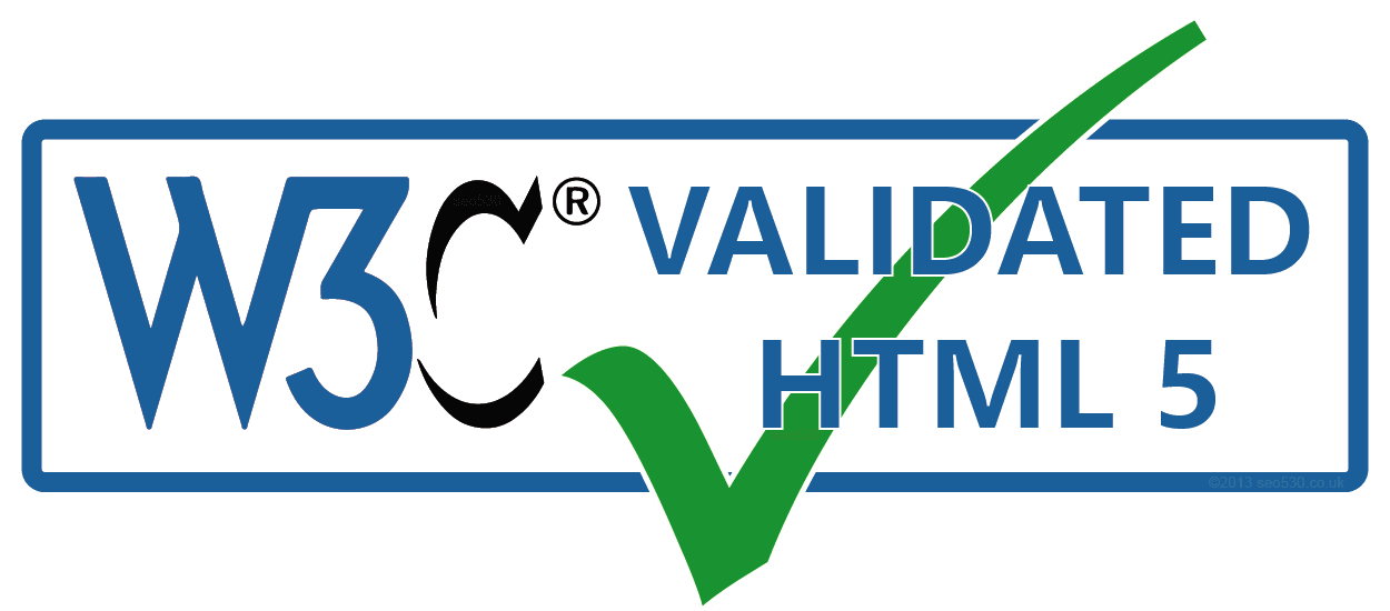 Passed w3c validation